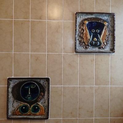 お風呂にはこんなタイルが。本当にキニナル!