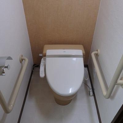 シャワートイレですよ!