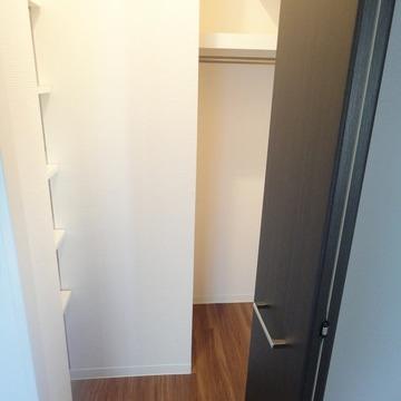他に廊下にも収納があります※画像は601号室