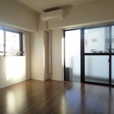 2面採光、風のとおるお部屋※画像は601号室