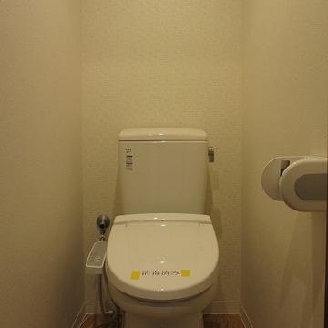 トイレもきれい ※前回募集時の写真です