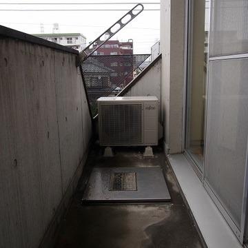 外に洗濯機置場があります。※写真は前回募集時のものです