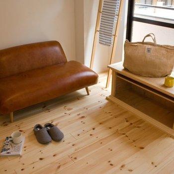 【イメージ】木製家具やヴィンテージ家具がよく合います!