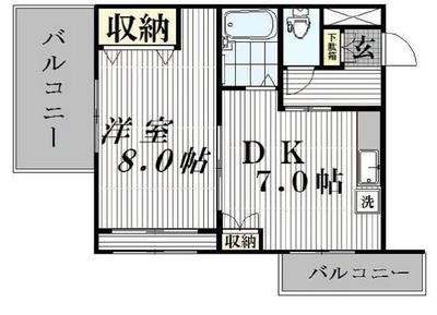 こちら渋谷区特等席 の間取り