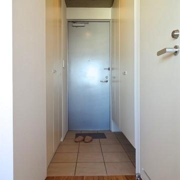 広めの玄関土間。タイルが可愛いですね※写真は前回募集時のものです