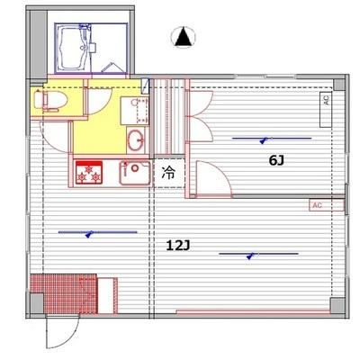 12帖のリビングに6帖の寝室。 とっても暮らしやすそうですよね。