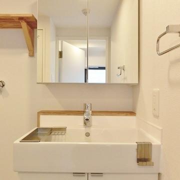 洗面台も新しく生まれ変わりました! ※画像は前回募集時のものです。