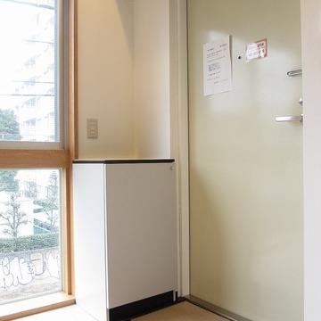 玄関やシューズボックスは一人暮らしサイズ※写真は前回募集時のものです