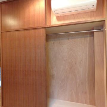 クローゼット、エアコン※写真は別部屋です。