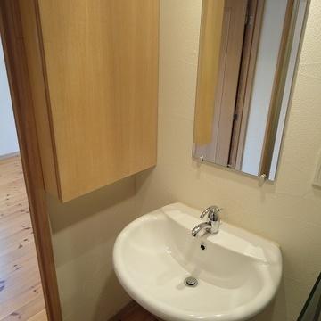 コダワリの洗面台です!※写真は別部屋です