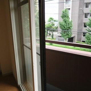2重窓になっています!