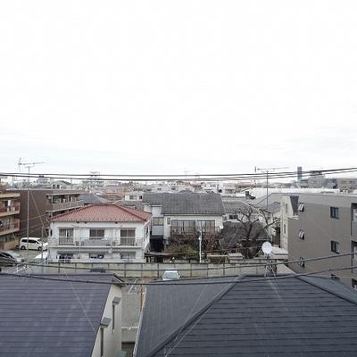 4階からの眺望です
