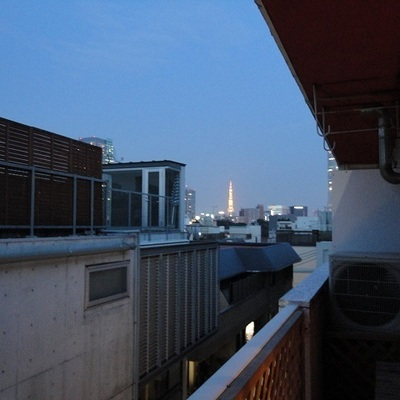 なんと東京タワーが見えます!