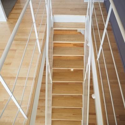 階段も上り下りしやすい!