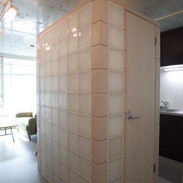 トイレのブロックが特徴的!※写真は前回募集時のものです