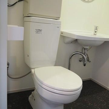 トイレは普通ですね。