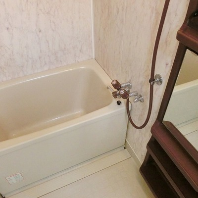 お風呂もきれいです