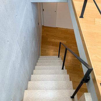 それでは下の階へ。
