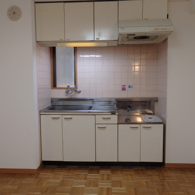 キッチンはがすコンロ設置できます!