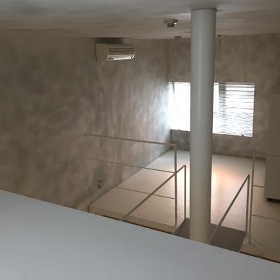 上からの眺め!向こうが居室 ※写真は別部屋です