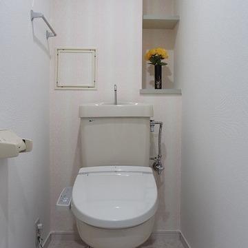 トイレももちろんおきれい。