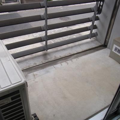 ベランダは1.5階部分に。※写真は前回募集時のものです