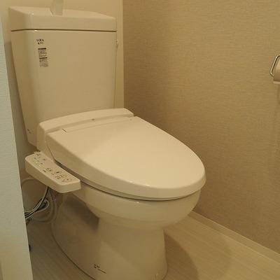 トイレはウォシュレット付きです。※写真は前回募集時のものです