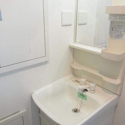洗面台はふつう・・・