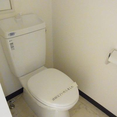 温水洗浄機能などはありません