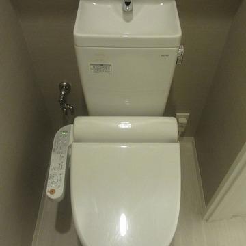 トイレもおきれい。