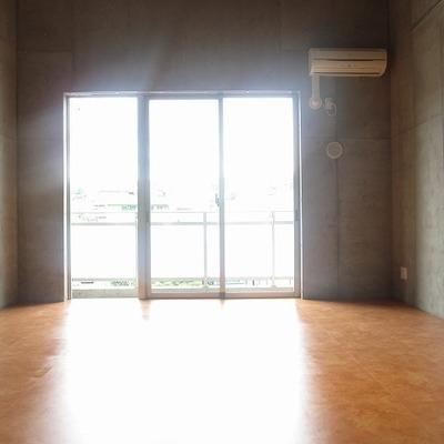 南西の窓です。なかなか明るい!