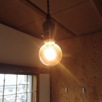 電球がオッシャー!※写真は前回掲載時のものです。