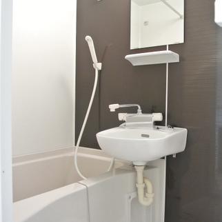 お風呂はぴかぴかの新品になります。※写真はイメージ