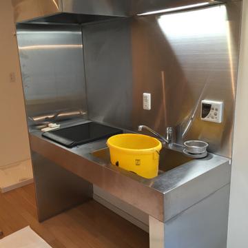 キッチンはIH※内装工事中