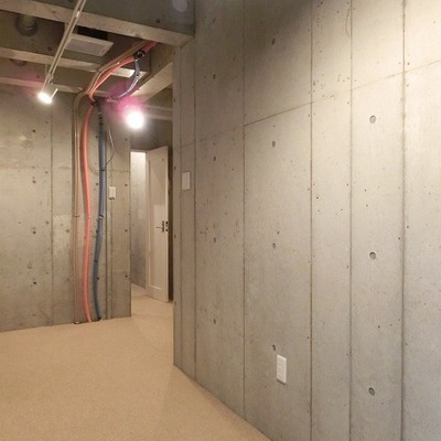 楽器の練習に没頭できる地下スペース。※画像は同じ間取りの別部屋です