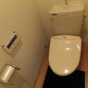 トイレも綺麗だよ!