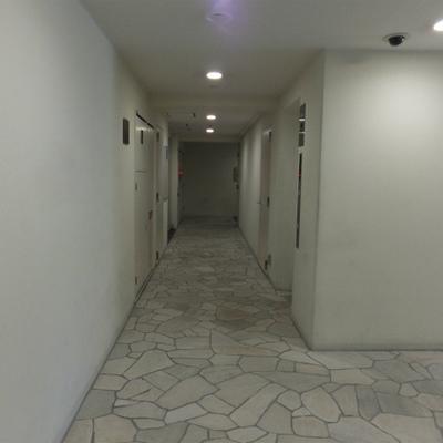 建物の廊下がきれい。。。