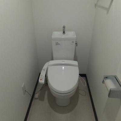 トイレも建物の割に綺麗なのがいいところ。