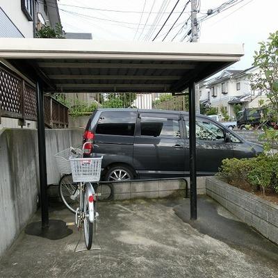 駐輪場もあります、もちろん◎