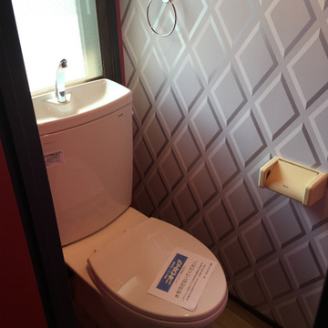 トイレに窓あり!