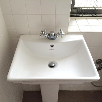 エレガントな洗面台