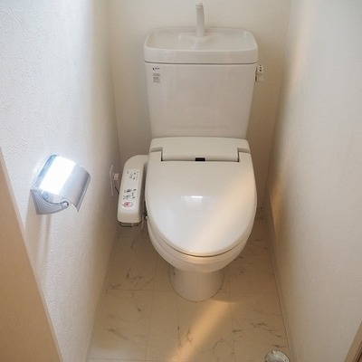 トイレは清潔感あり!