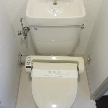 やぁ、トイレさん