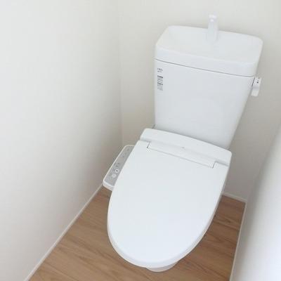 【こちらはお隣 202号室】トイレはウォシュレット付き