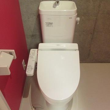 トイレはピカピカ!ウォシュレット付きです