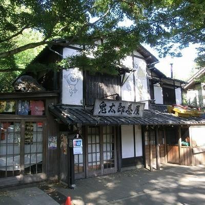 うわさの深大寺の鬼太郎茶屋