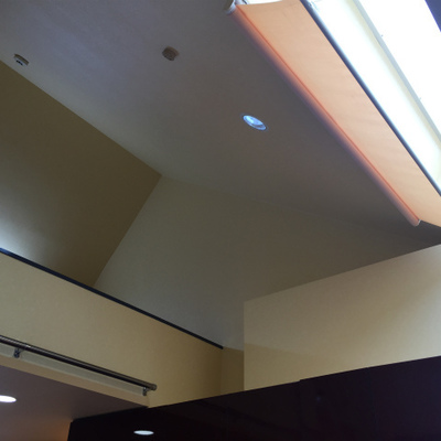 三角屋根。※クリーニング前