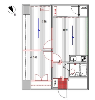 69:豊栄新都心マンション【カスタマイズ】 の間取り