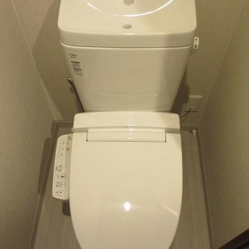 トイレもぴかぴかでっせ!