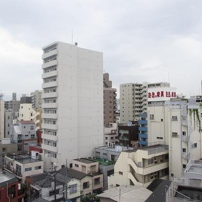 眺望はさすが8階といったところでしょうか。